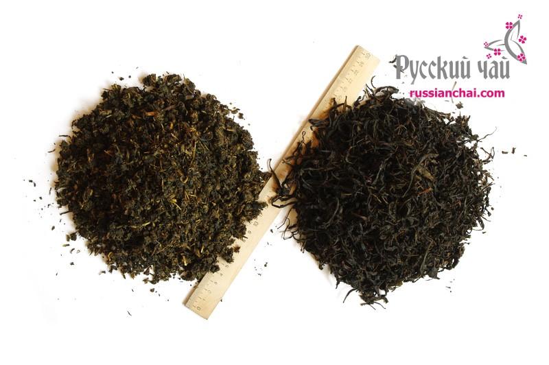 Цельнолистовой и гранулированный иван чай