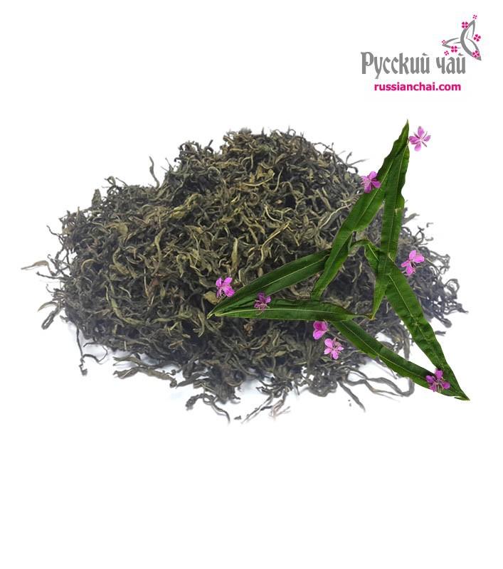 Зеленый прожаренный иван-чай на развес